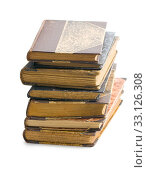 Купить «stack of ancient books», фото № 33126308, снято 6 июня 2020 г. (c) PantherMedia / Фотобанк Лори