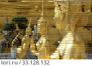 Купить «Der Wat Phra Kaew in der Stadt Bangkok in Thailand in Suedostasien.», фото № 33128132, снято 28 мая 2020 г. (c) PantherMedia / Фотобанк Лори