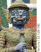 Купить «Der Wat Phra Kaew in der Stadt Bangkok in Thailand in Suedostasien.», фото № 33128140, снято 28 мая 2020 г. (c) PantherMedia / Фотобанк Лори
