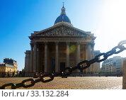 Купить «Pantheon in Latin Quarter, Paris», фото № 33132284, снято 10 октября 2018 г. (c) Яков Филимонов / Фотобанк Лори