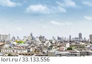Купить «Bird's eye view bangkok thailand», фото № 33133556, снято 10 июля 2020 г. (c) PantherMedia / Фотобанк Лори