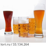 Купить «German beer», фото № 33134264, снято 1 июня 2020 г. (c) PantherMedia / Фотобанк Лори
