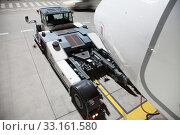 Купить «aircraft tractors is not connected to the aircraft», фото № 33161580, снято 8 апреля 2020 г. (c) PantherMedia / Фотобанк Лори
