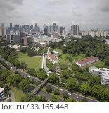 Купить «Singapore CBD City Skyline», фото № 33165448, снято 8 июля 2020 г. (c) PantherMedia / Фотобанк Лори