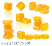 Купить «orange flavoured hard candy», фото № 33176560, снято 27 февраля 2020 г. (c) PantherMedia / Фотобанк Лори