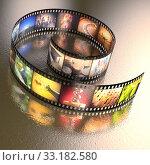 Купить «Photographic Film», фото № 33182580, снято 24 февраля 2020 г. (c) PantherMedia / Фотобанк Лори