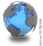 Купить «Continents surrounding the Atlantic», фото № 33182624, снято 25 мая 2020 г. (c) PantherMedia / Фотобанк Лори