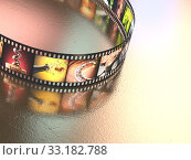 Купить «Photographic Film», фото № 33182788, снято 23 февраля 2020 г. (c) PantherMedia / Фотобанк Лори