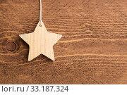 Купить «Christmas Decoration - Star», фото № 33187324, снято 5 июля 2020 г. (c) PantherMedia / Фотобанк Лори