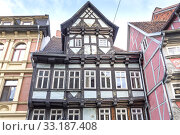 Купить «Half-timbered in Quedlinburg,Harz», фото № 33187408, снято 25 февраля 2020 г. (c) PantherMedia / Фотобанк Лори