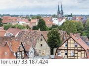 Купить «truss in quedlinburg,harz», фото № 33187424, снято 25 февраля 2020 г. (c) PantherMedia / Фотобанк Лори