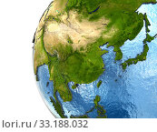 Купить «Southeast Asia on Earth», фото № 33188032, снято 8 апреля 2020 г. (c) PantherMedia / Фотобанк Лори