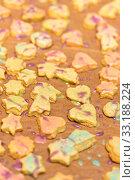 Купить «Colorfully decorated cookies», фото № 33188224, снято 5 июля 2020 г. (c) PantherMedia / Фотобанк Лори