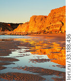 Купить «Portugal beautiful beach», фото № 33188436, снято 25 февраля 2020 г. (c) PantherMedia / Фотобанк Лори