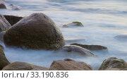 Купить «rocks in the surf - rocks in surf 07», фото № 33190836, снято 25 февраля 2020 г. (c) PantherMedia / Фотобанк Лори