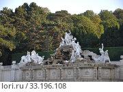 Купить «fountain schonbrunn palace garden», фото № 33196108, снято 26 мая 2020 г. (c) PantherMedia / Фотобанк Лори