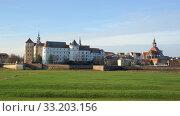 hartenfels castle. Стоковое фото, фотограф Bernd Blume / PantherMedia / Фотобанк Лори