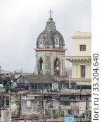 Купить «aerial view of Havana», фото № 33204640, снято 31 мая 2020 г. (c) PantherMedia / Фотобанк Лори