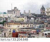 Купить «aerial view of Havana», фото № 33204648, снято 31 мая 2020 г. (c) PantherMedia / Фотобанк Лори