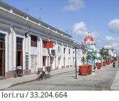Купить «street scenery in Havana», фото № 33204664, снято 31 мая 2020 г. (c) PantherMedia / Фотобанк Лори