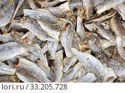 Dried salted fishs on market. Стоковое фото, фотограф Yann Song Tang / PantherMedia / Фотобанк Лори