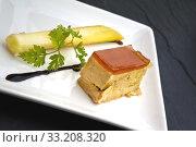 Leek and foie gras. Стоковое фото, фотограф Jacques Palut / PantherMedia / Фотобанк Лори