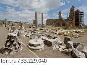 Perga Ruins in Turkey with the Hellenistic Gates. Стоковое фото, фотограф Scott Griessel / PantherMedia / Фотобанк Лори