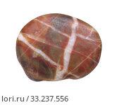 Купить «natural small granite stone on white background», фото № 33237556, снято 12 июля 2020 г. (c) PantherMedia / Фотобанк Лори