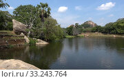 Купить «Пруд Черной Воды. Михинтале, Шри-Ланка», видеоролик № 33243764, снято 26 февраля 2020 г. (c) Виктор Карасев / Фотобанк Лори