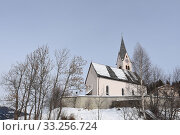 Купить «Church,Church,Tower,St. Oswald,St. Oswald,Kartitsch,East Tyrol,Village», фото № 33256724, снято 26 мая 2020 г. (c) PantherMedia / Фотобанк Лори