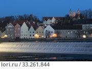 Panorama of Landsberg am Lech. Стоковое фото, фотограф Fabio Lotti / PantherMedia / Фотобанк Лори