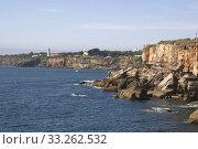 Купить «küstenlandschaft bei cabo da roca, portugal», фото № 33262532, снято 24 мая 2020 г. (c) PantherMedia / Фотобанк Лори