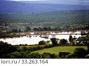 Купить «Country landscape flooded after heavy rains», фото № 33263164, снято 16 июля 2020 г. (c) PantherMedia / Фотобанк Лори