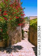 old town in provence. Стоковое фото, фотограф Dzinnik Darius / PantherMedia / Фотобанк Лори