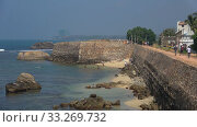 Купить «Солнечный день в старой крепости. Галле, Шри-Ланка», видеоролик № 33269732, снято 15 февраля 2020 г. (c) Виктор Карасев / Фотобанк Лори
