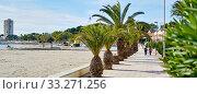 Horizontal image San Pedro del Pinatar promenade, Spain. Стоковое фото, фотограф Alexander Tihonovs / Фотобанк Лори