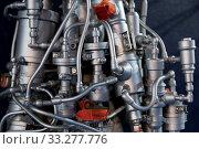 Купить «Rocket Engine Launcher Detail Exhibition.», фото № 33277776, снято 3 июня 2020 г. (c) easy Fotostock / Фотобанк Лори
