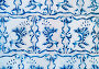 Купить «Blue ceramic tiles ornament pattern.», фото № 33278312, снято 29 февраля 2020 г. (c) easy Fotostock / Фотобанк Лори