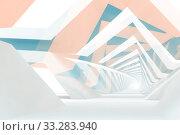 Купить «Abstract digital graphic background, cg art», иллюстрация № 33283940 (c) EugeneSergeev / Фотобанк Лори