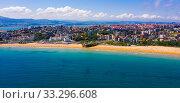 Sea shore of Santander (2019 год). Стоковое фото, фотограф Яков Филимонов / Фотобанк Лори