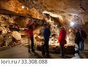 Купить «Formations inside Koneprusy caves», фото № 33308088, снято 2 июля 2020 г. (c) Яков Филимонов / Фотобанк Лори