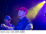 Sergey Mikhalok in concert hall Sala Apolo (2018 год). Редакционное фото, фотограф Яков Филимонов / Фотобанк Лори