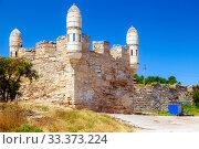 Enikale's fortress. Kerch, Crimea (2019 год). Редакционное фото, фотограф Владимир Арсентьев / Фотобанк Лори