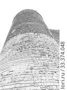 Купить «Maidens Tower. Fortress of the Old Sity Baku. Historical core of Azerbaijan Baku.», иллюстрация № 33374048 (c) Евгений Ткачёв / Фотобанк Лори