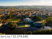 Купить «View of Ceske Budejovice», фото № 33374640, снято 12 октября 2019 г. (c) Яков Филимонов / Фотобанк Лори