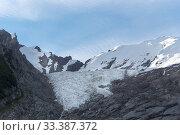 Купить «Huemul glacier, near El Chalten, Los Glaciares National Park, Patagonia, Argentina. January 2017.», фото № 33387372, снято 8 апреля 2020 г. (c) Nature Picture Library / Фотобанк Лори