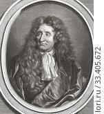 Купить «Jean de La Fontaine, 1621 -1695. French fabulist and poet.», фото № 33405672, снято 8 июня 2019 г. (c) age Fotostock / Фотобанк Лори
