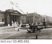 Купить «The Walker Art Gallery and The County Sessions House, Liverpool, England, in the late 19th century.», фото № 33405692, снято 28 июня 2019 г. (c) age Fotostock / Фотобанк Лори