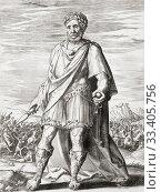 King Darius III of Persia, c. 380 -330 BC. Last king of the Achaemenid Empire of Persia. (2019 год). Редакционное фото, фотограф Classic Vision / age Fotostock / Фотобанк Лори