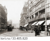 Купить «Church Street, Liverpool, England in the early 20th century.», фото № 33405820, снято 28 июня 2019 г. (c) age Fotostock / Фотобанк Лори